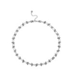 KNOT NECKLACE SILVER